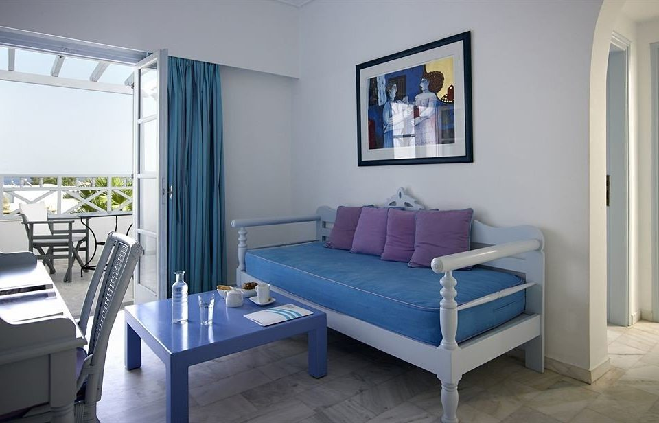 property blue Bedroom living room Suite Villa cottage
