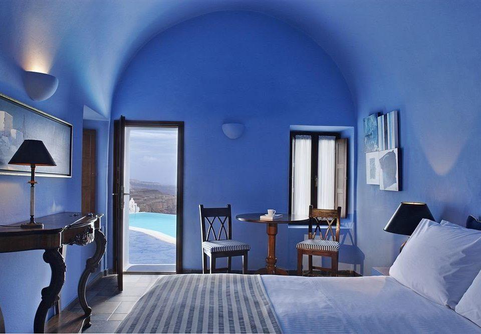 blue property house living room Suite home Villa Bedroom cottage