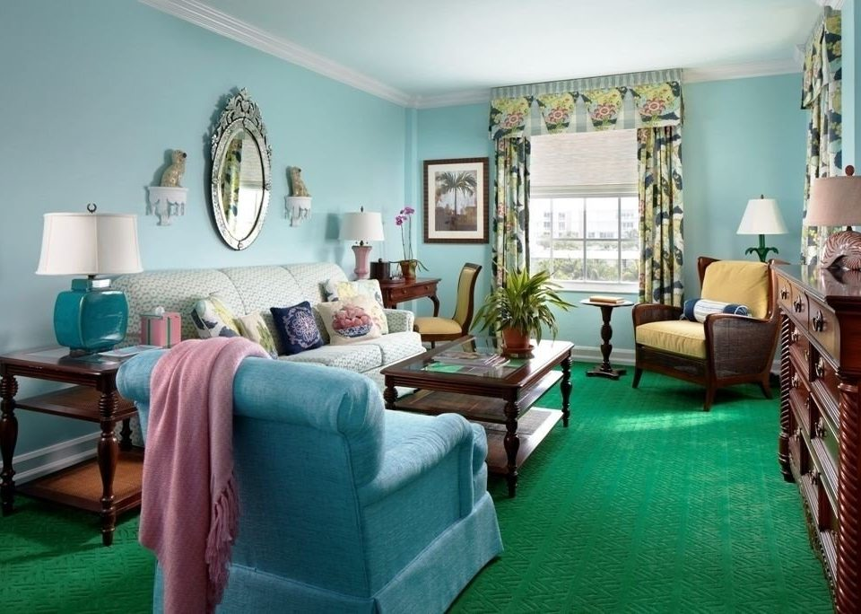 green property living room chair home cottage Suite Villa condominium Bedroom