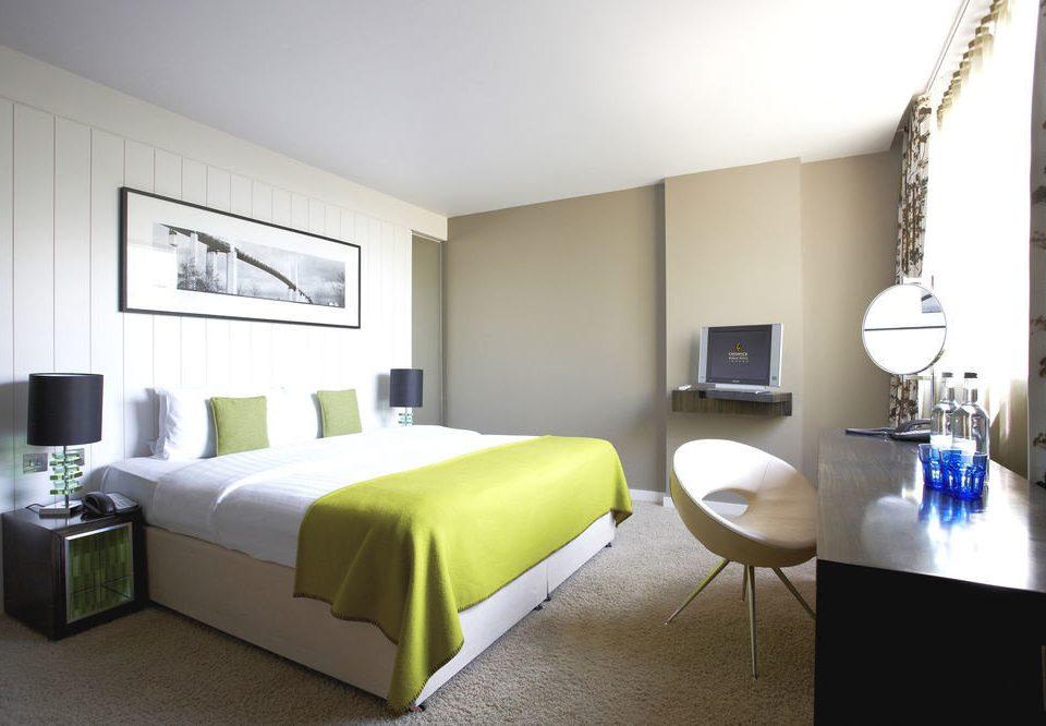 sofa property Bedroom Suite living room green condominium cottage Villa