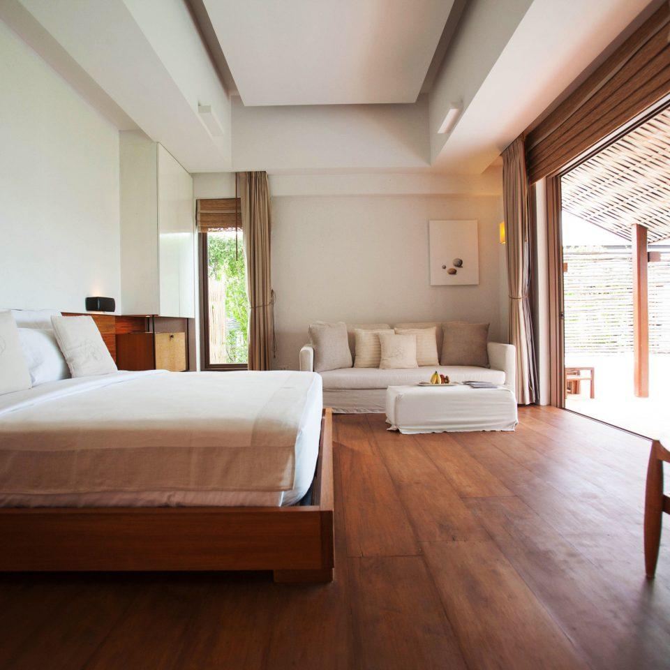 property Bedroom living room house home hardwood condominium Suite cottage loft Villa wood flooring