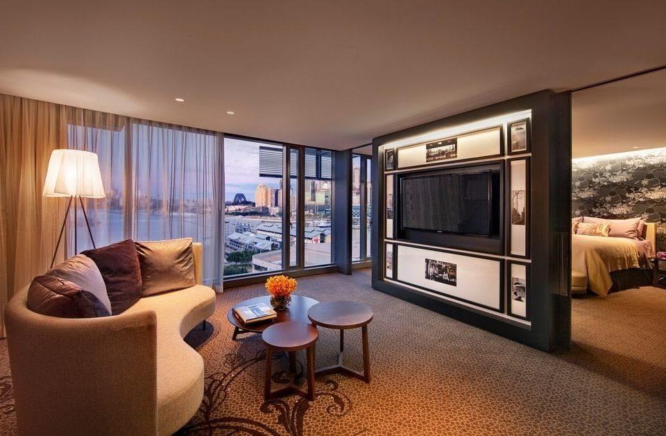 property living room condominium Suite home Villa Bedroom flat lamp