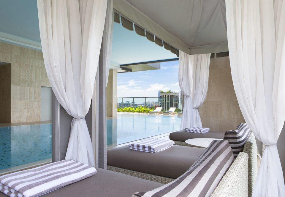 curtain property Suite Bedroom Villa condominium window treatment cottage