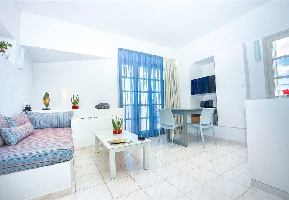 property condominium living room Villa Suite white cottage loft Bedroom tiled