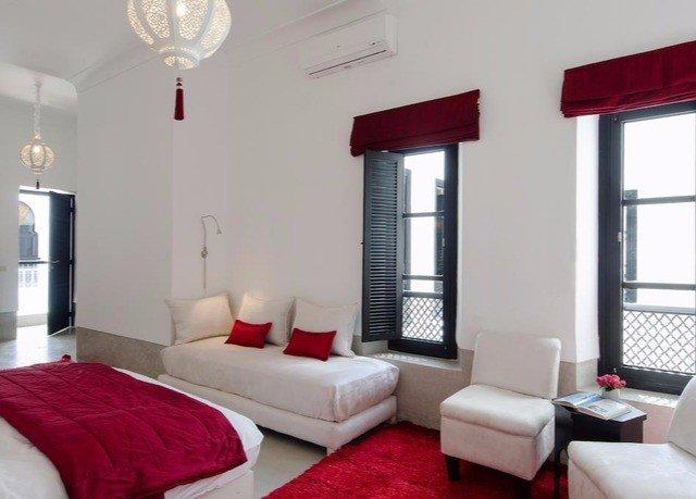 red property living room cottage Suite condominium Villa Bedroom