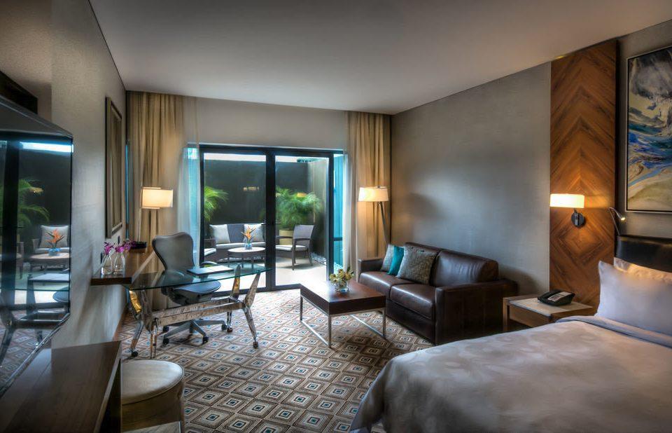 property condominium living room home Suite Bedroom Villa lamp