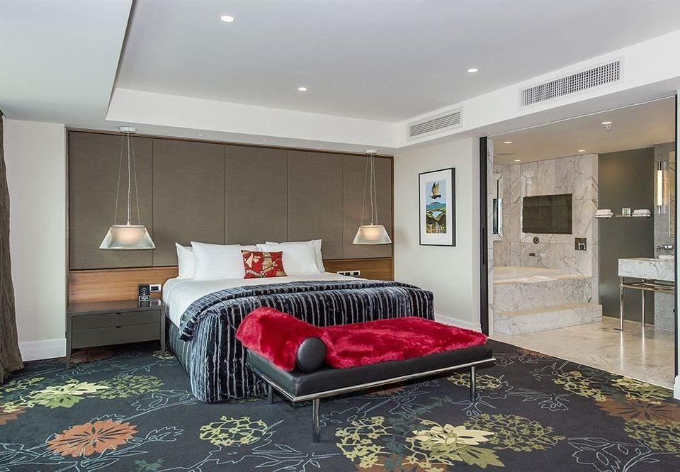 property living room red rug Suite condominium home Bedroom Villa