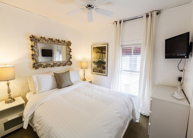 Bedroom property scene white Suite cottage home living room Villa tan