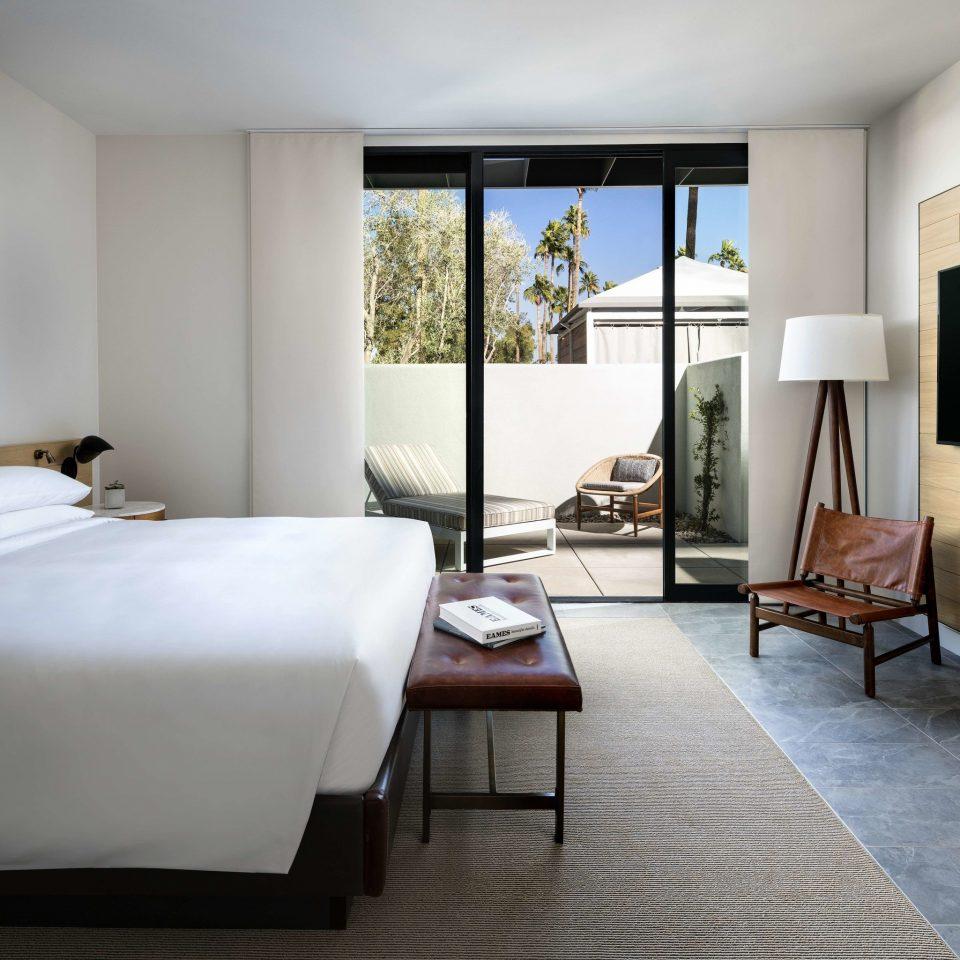 sofa property Bedroom living room Suite home hardwood Villa cottage