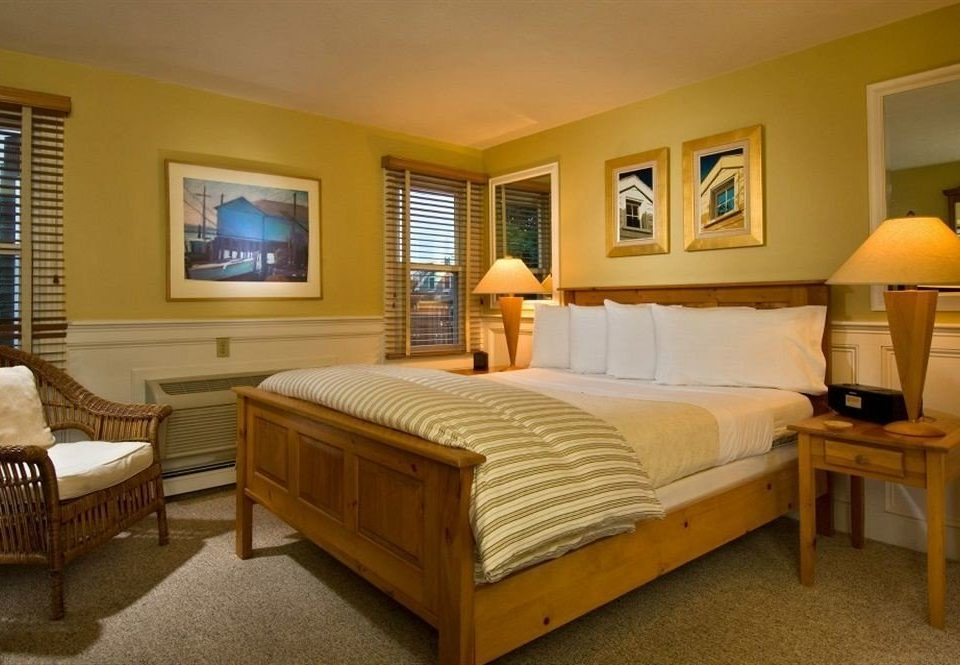 property Bedroom yellow Suite cottage hardwood living room home Villa