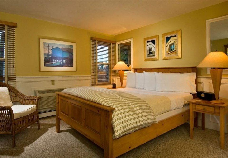 property Bedroom yellow Suite cottage hardwood living room home Villa