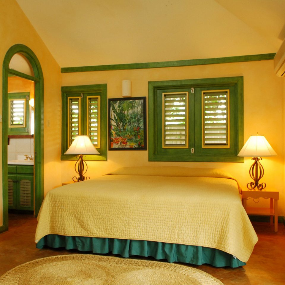 Bedroom property yellow green home cottage Suite Villa living room farmhouse