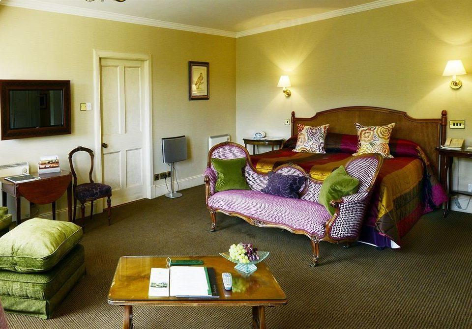 sofa property Bedroom Suite cottage living room home Villa lamp flat