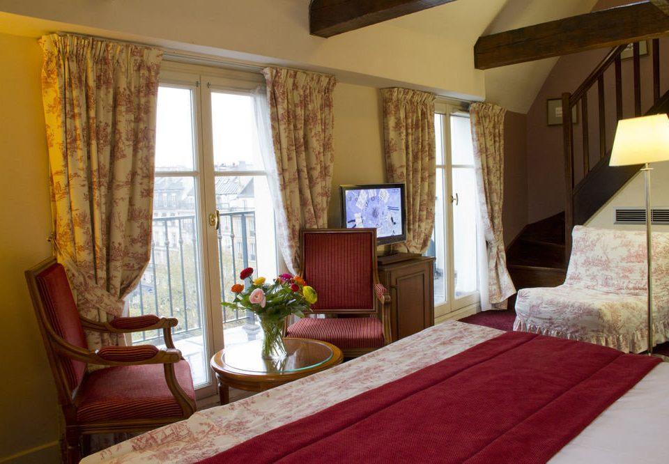 property red Suite Bedroom cottage Villa