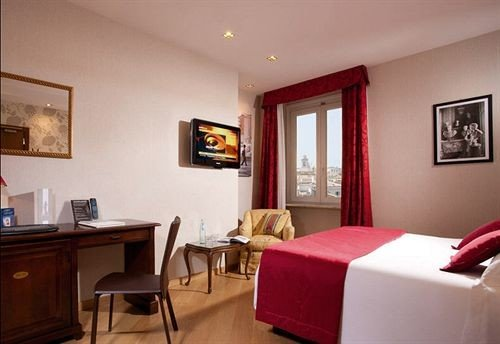 property red Suite cottage living room Villa Bedroom