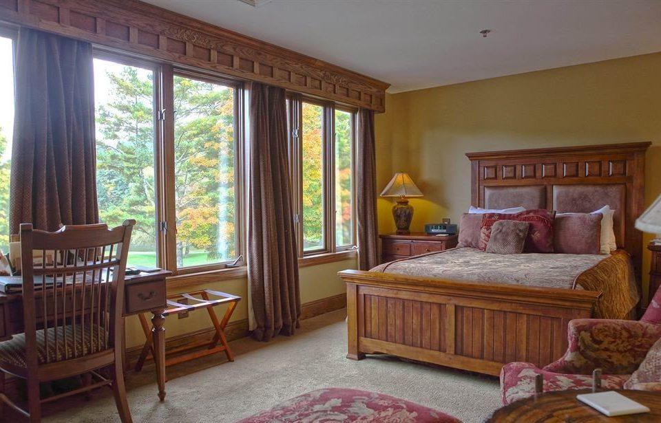 property home living room cottage hardwood Villa Bedroom Suite farmhouse