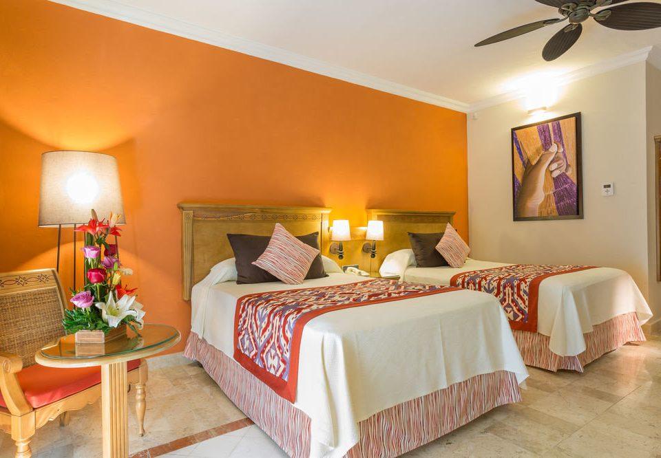 property Bedroom Suite scene orange cottage Villa