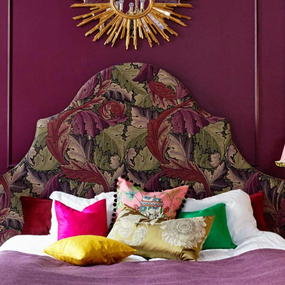 Trip Ideas red living room colorful Bedroom colored bright