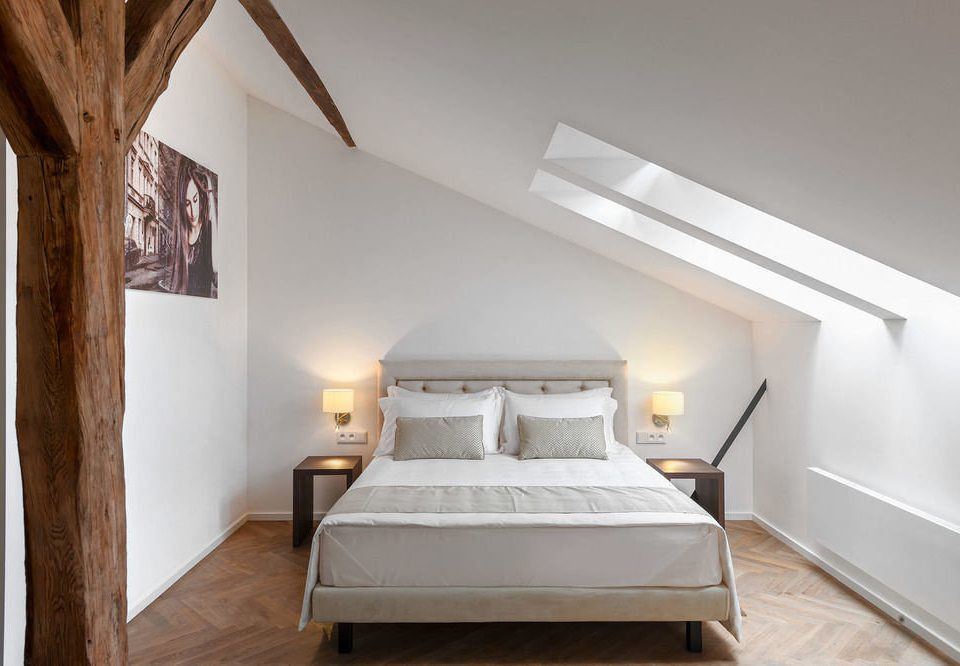 property Bedroom hardwood home cottage attic living room bed frame Villa farmhouse