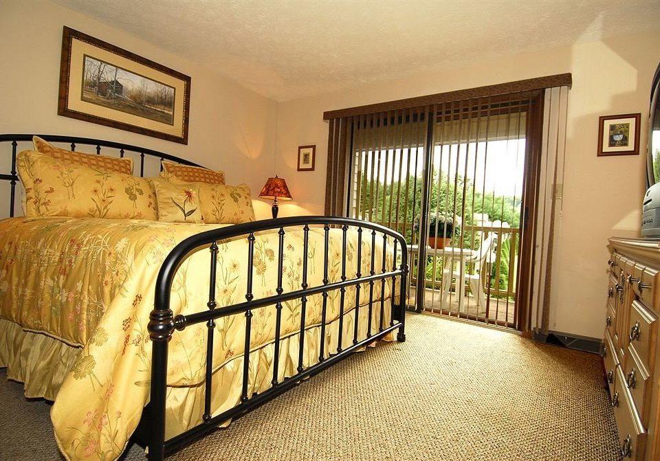 property Bedroom cottage hardwood home bed frame Villa tan
