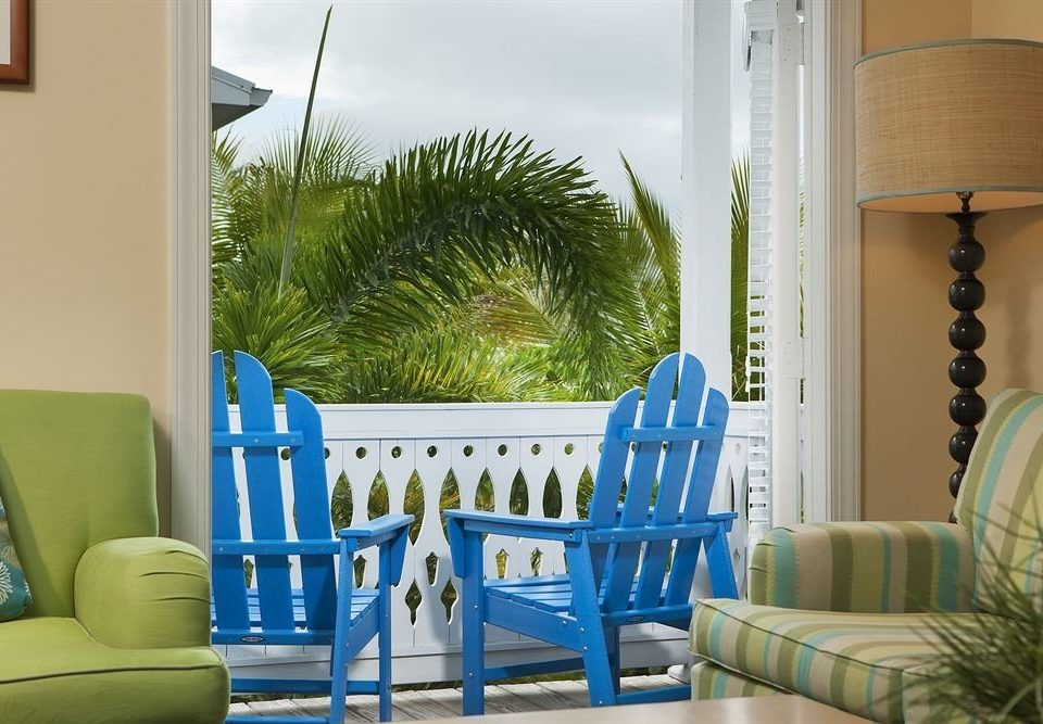 blue property living room home porch condominium cottage Villa Bedroom