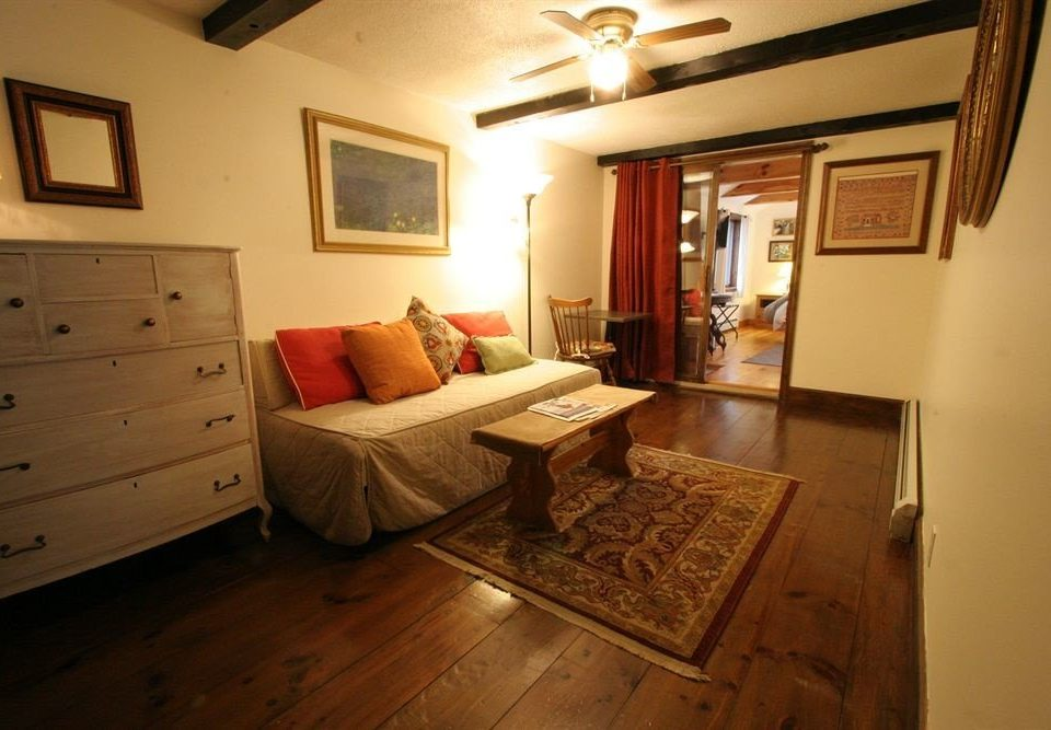 property building house cottage home Bedroom hardwood farmhouse Villa living room
