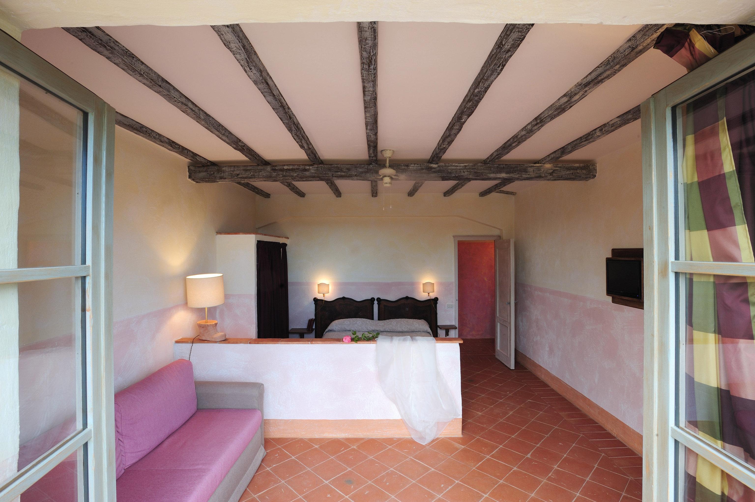 property building Villa cottage Bedroom living room loft tiled