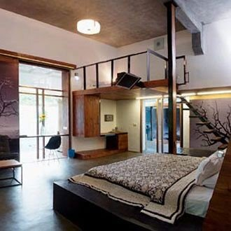 property condominium Villa living room loft cottage Bedroom