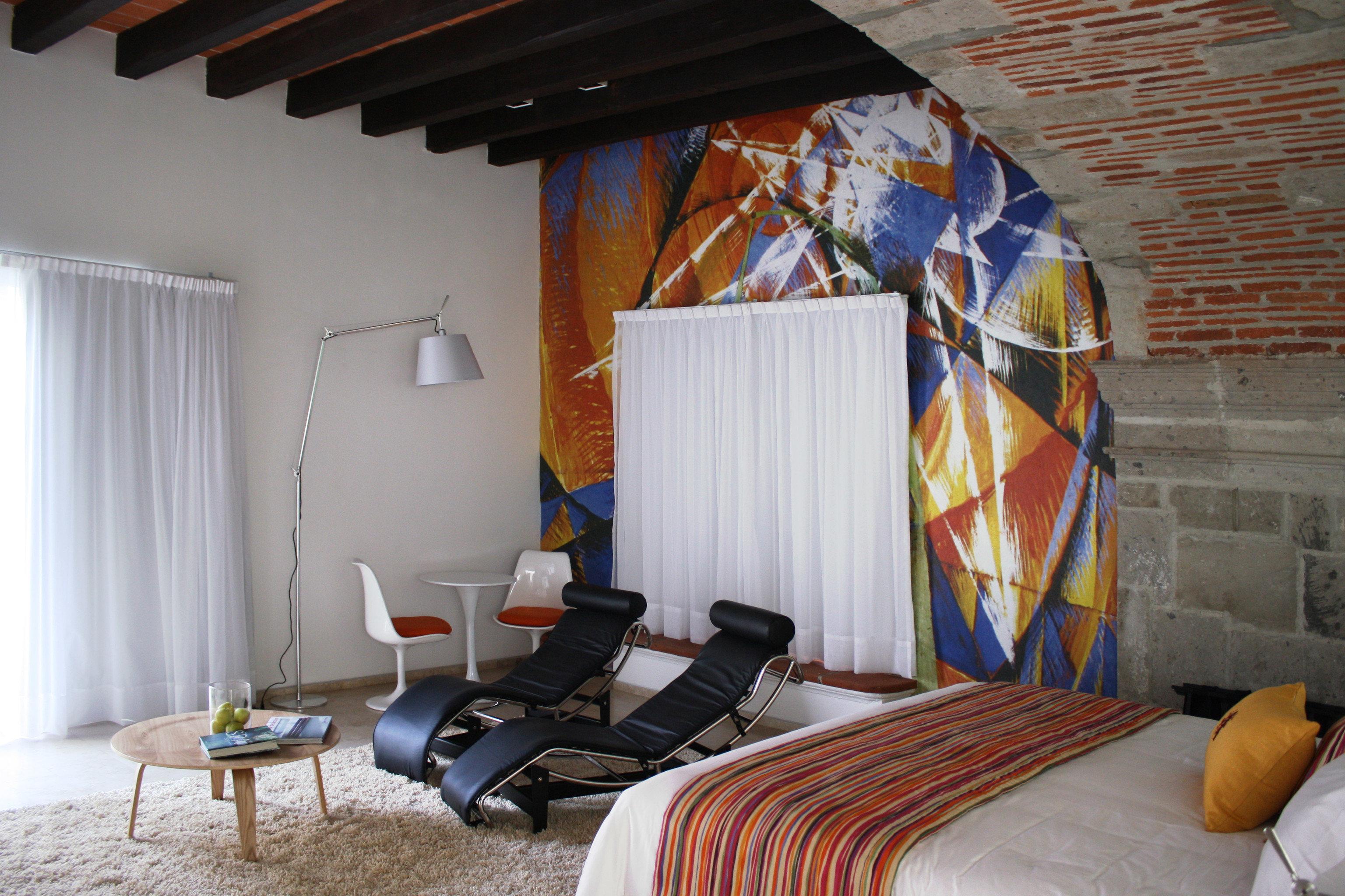 property house living room cottage home loft Villa Bedroom