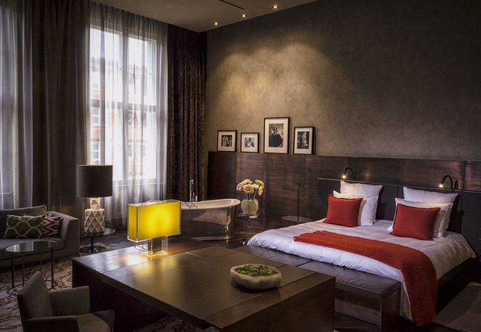 Berlin Boutique Hotels Germany Hotels Luxury Travel living room property home Suite condominium
