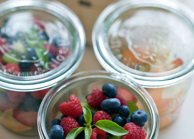food fruit cup plate plant breakfast berry dessert container strawberry strawberries plastic fresh