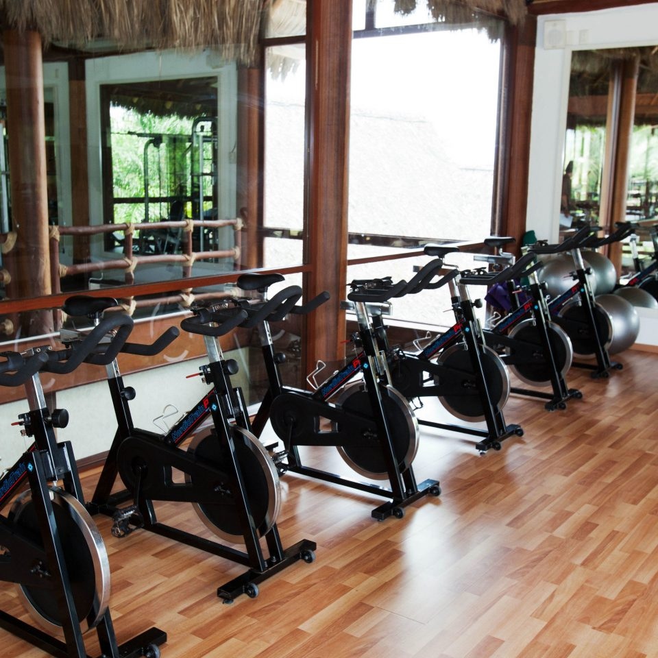 structure bicycle wooden sport venue gym physical fitness