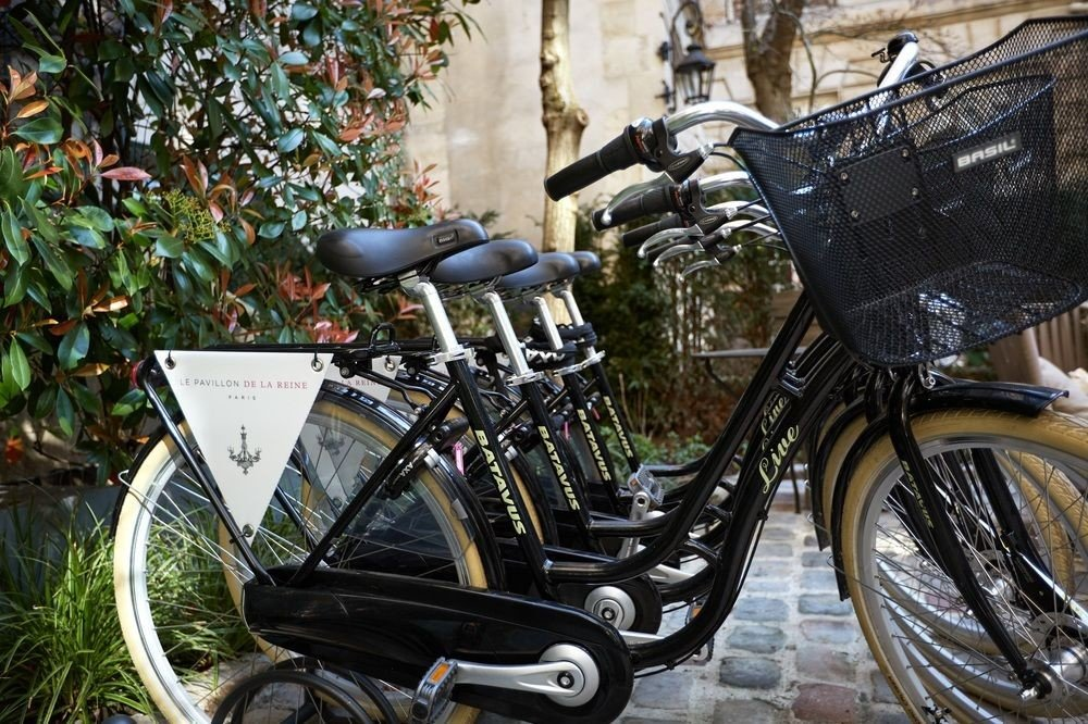 bicycle vehicle land vehicle transport parked motorcycle sports equipment mountain bike