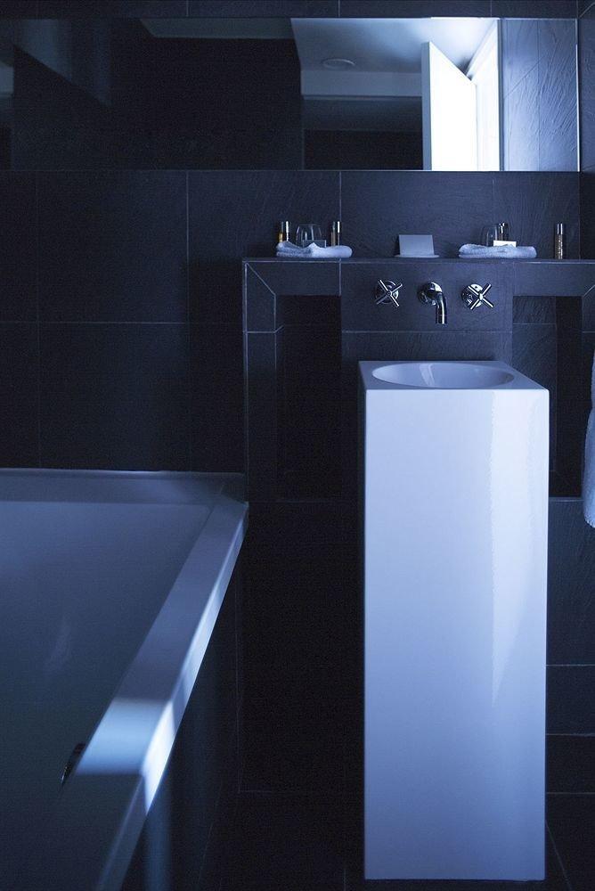 plumbing fixture sink bidet dark