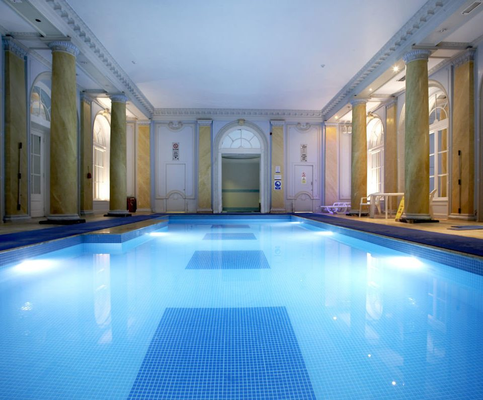 blue swimming pool property building leisure centre mansion thermae billiard room