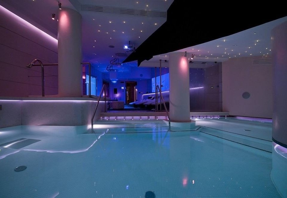 swimming pool blue billiard room recreation room games screenshot nightclub jacuzzi light