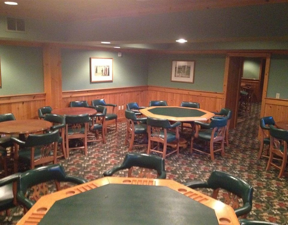 recreation room chair billiard room building conference hall games