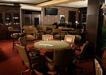 building recreation room conference hall billiard room cluttered restaurant