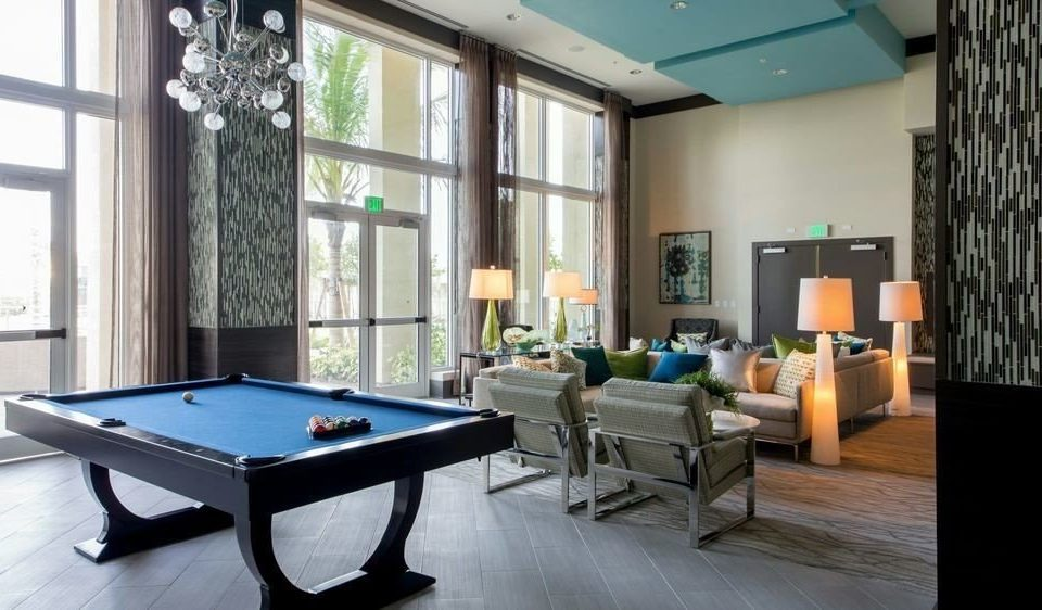 recreation room property billiard room condominium home living room poolroom