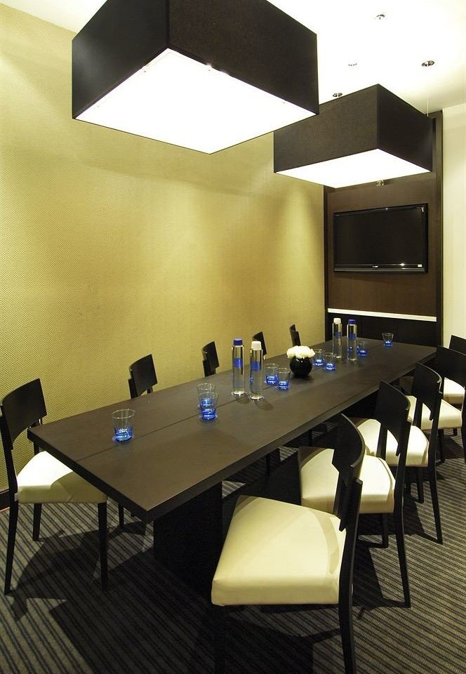 desk billiard room conference hall recreation room lighting restaurant office set