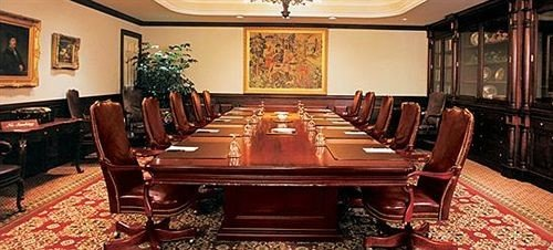billiard room function hall rug conference hall recreation room leather dining table