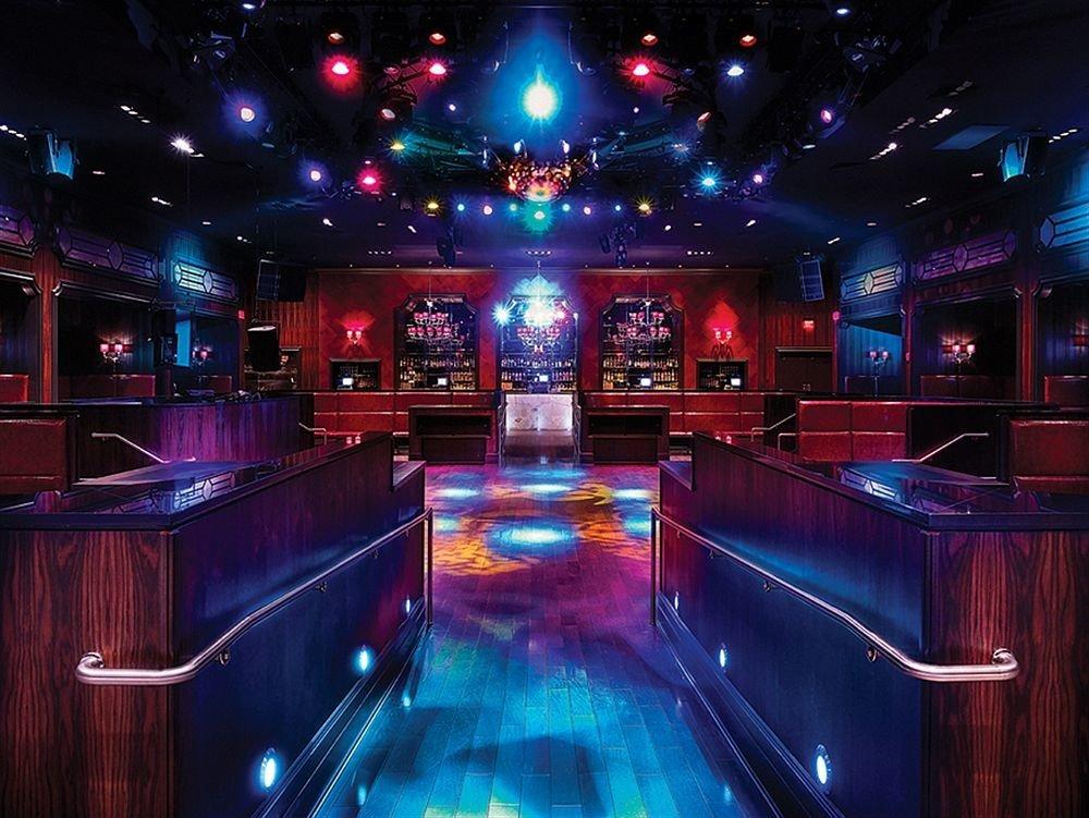 nightclub billiard room music venue recreation room luxury vehicle games night light