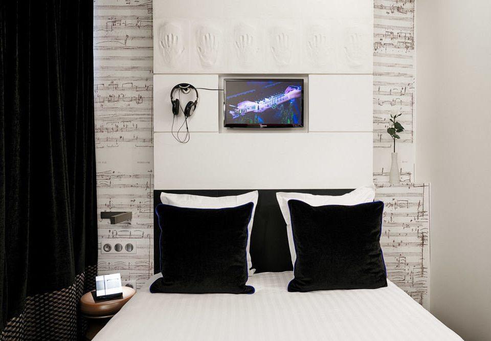 white black curtain modern art living room brand