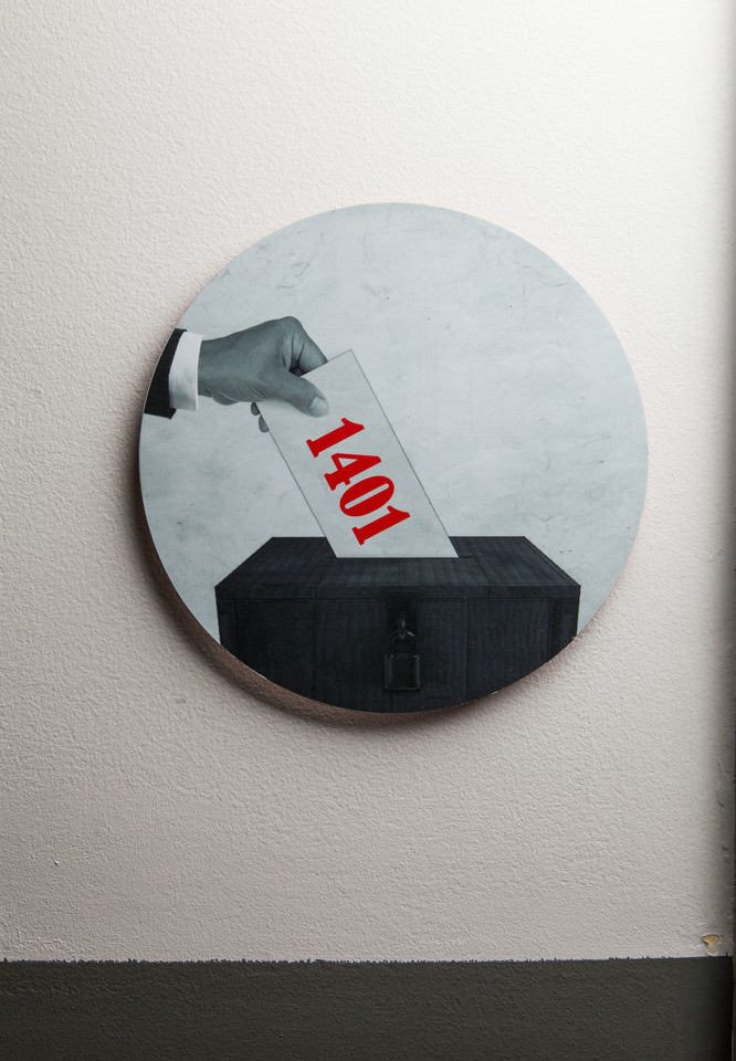 black white red shape brand number sign logo
