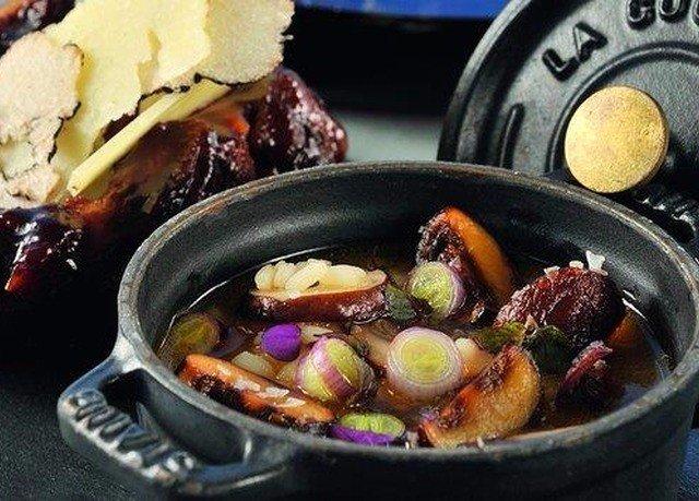 food meat black cuisine vegetable stew