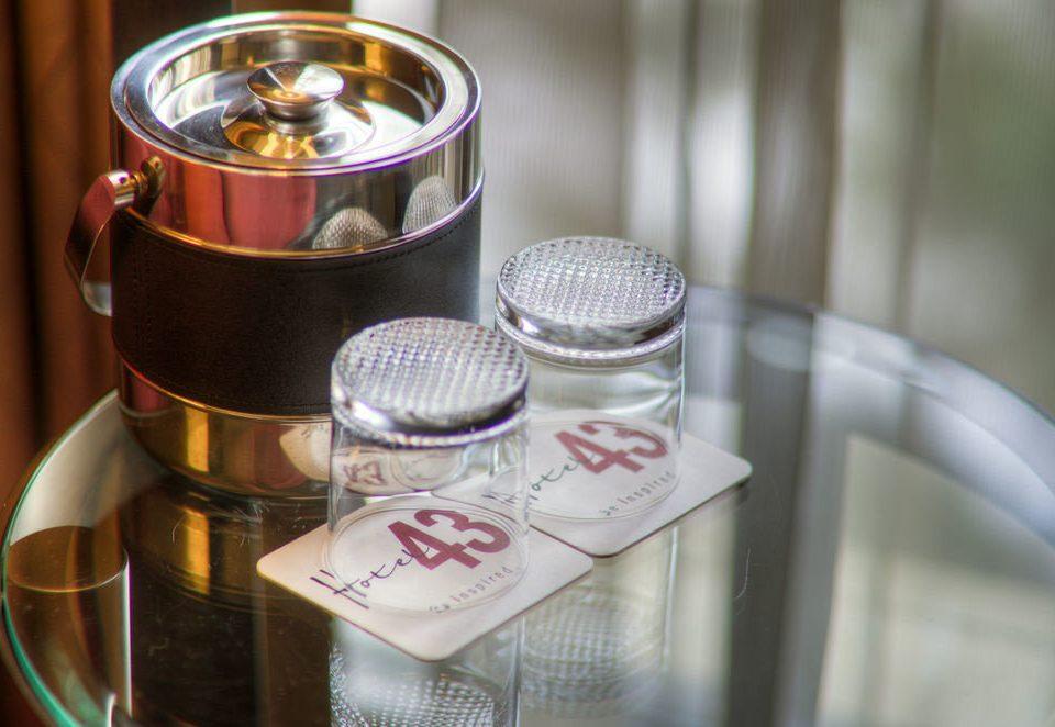 lighting candle blender