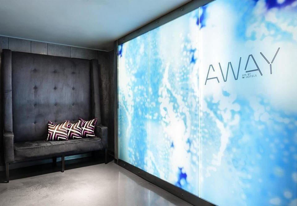 blue brand display device screenshot signage presentation