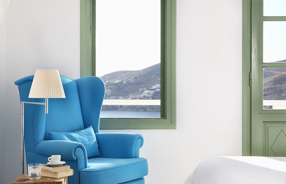 color blue chair living room home seat