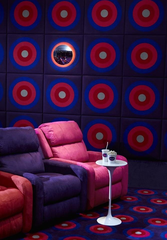 color red colorful blue colored modern art living room screenshot circle shape wallpaper colors