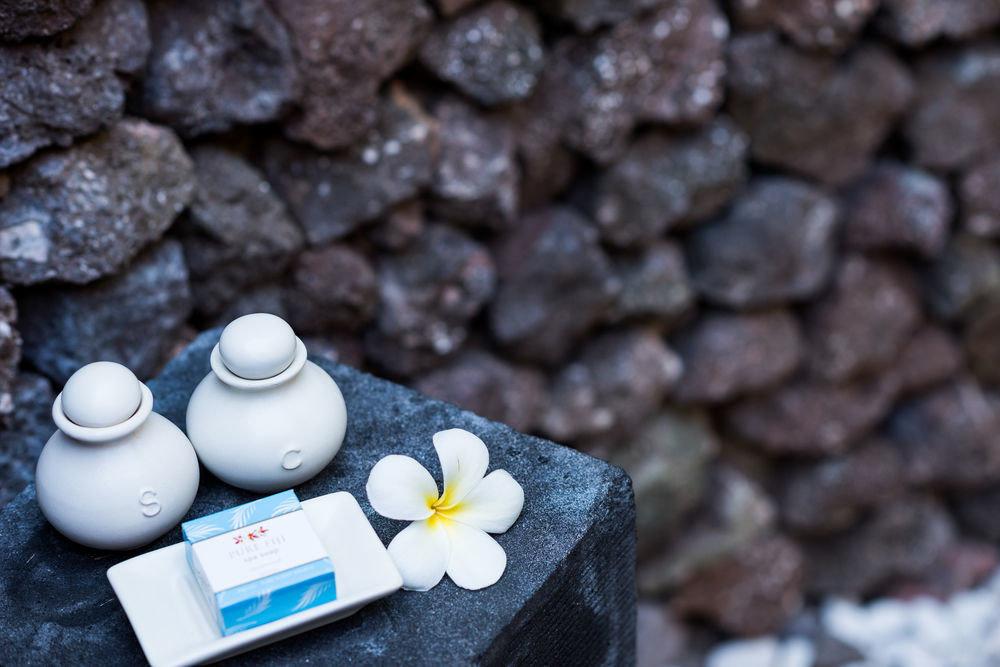 rock blue close up flower macro photography stone